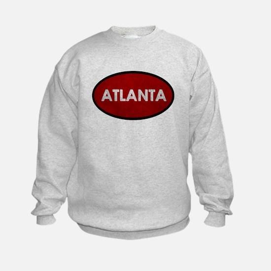 ATLANTA Red Stone Sweatshirt