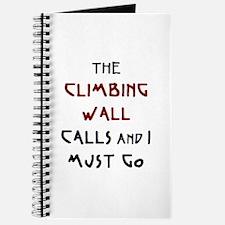 climbing wall calls Journal