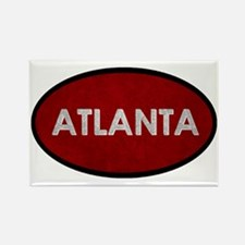 ATLANTA Red Stone Magnets