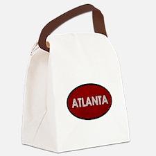 ATLANTA Red Stone Canvas Lunch Bag