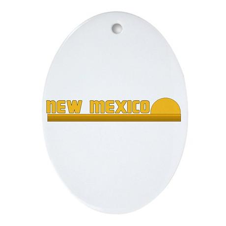 New Mexico Oval Ornament