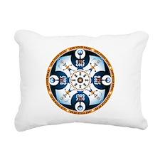 Use Your Head Rectangular Canvas Pillow