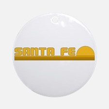 Santa Fe, New Mexico Ornament (Round)