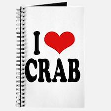 I Love Crab Journal
