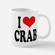I Love Crab Mug