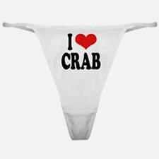 I Love Crab Classic Thong