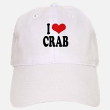I Love Crab Baseball Baseball Cap