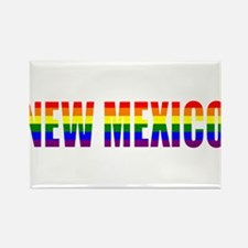 New Mexico Pride Rectangle Magnet
