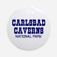 Carlsbad Caverns National Par Ornament (Round)