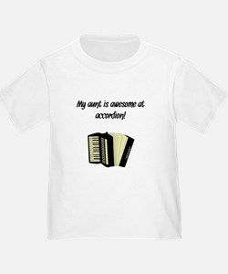 My Aunt Is Awesome At Accordion T-Shirt