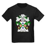 Canelas Family Crest Kids Dark T-Shirt