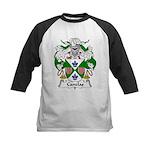 Canelas Family Crest Kids Baseball Jersey