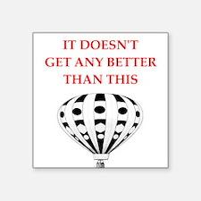 ballooning Sticker
