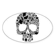 Sugar Skull Labyrinth Decal