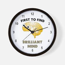 FTF Brain Wall Clock