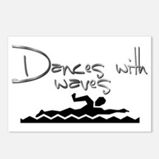 Dances with Waves Postcards (Package of 8)