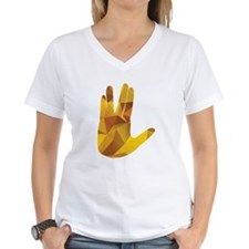 Vulcan Salute - Gold P T-Shirt