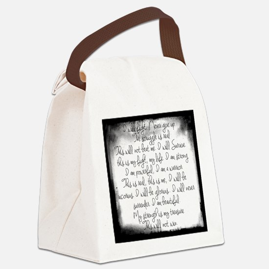 The Struggle Canvas Lunch Bag