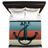 Anchor Luxe King Duvet Cover