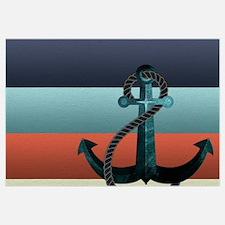 Nautical Anchor Flag