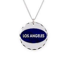 Los Angeles Blue Stone Necklace
