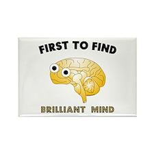 FTF Brain Rectangle Magnet