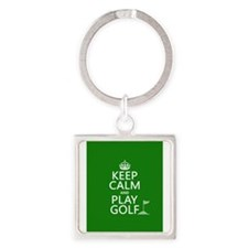 Unique Lessons in love Square Keychain