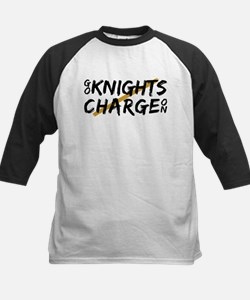 UCF Knights Charge On Brushed Desi Baseball Jersey