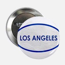"""Los Angeles White Stone 2.25"""" Button (10 pack)"""