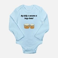 My Daddy Is Awesome At Bongo Drums Body Suit