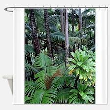 Funny Rainforest Shower Curtain
