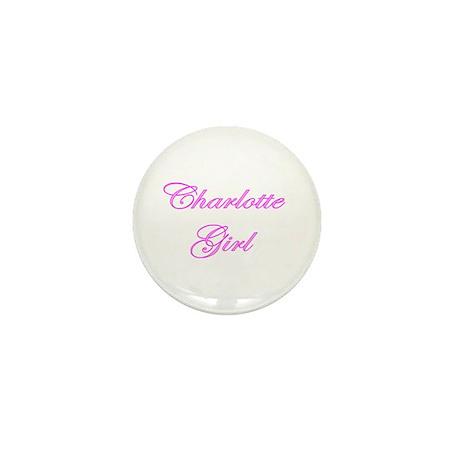 Charlotte Girl Mini Button (100 pack)