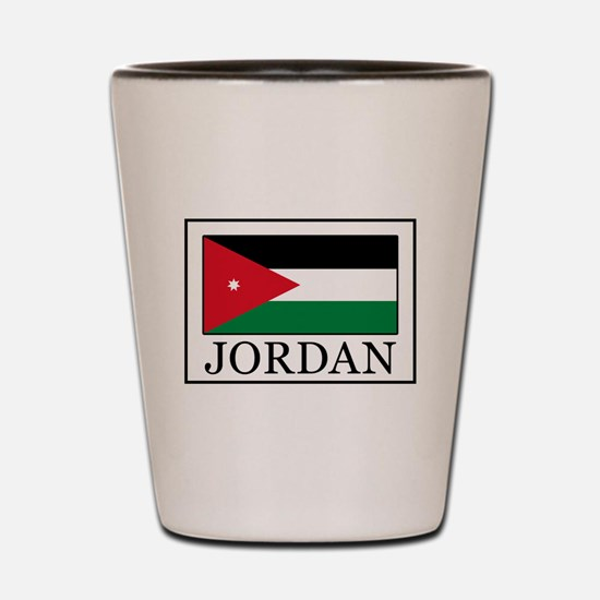 Jordan Shot Glass