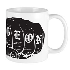 UCF Charge On Knuckles Black Design Mug