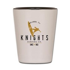 UCF Knights Surfing Company Gold & Blac Shot Glass