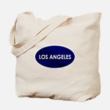 Los Angeles Blue Stone Tote Bag