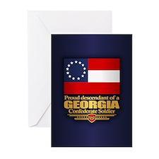 Georgia Proud Descendant Greeting Cards