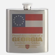 Georgia Proud Descendant Flask