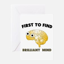 FTF Brain Greeting Card