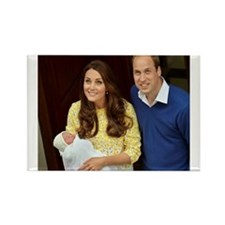 Charlotte Elizabeth Diana Rectangle Magnet