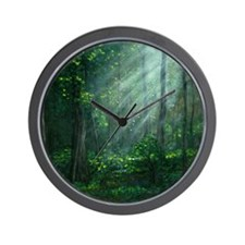 Cute Forest Wall Clock