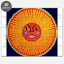 Huichol_String_Art_Sun_dark_background_1800 Puzzle