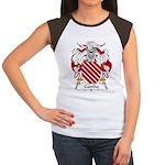 Cainho Family Crest Women's Cap Sleeve T-Shirt