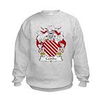 Cainho Family Crest Kids Sweatshirt
