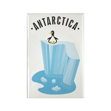 Antarctica Rectangle Magnet (10 pack)