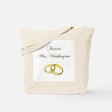 FUTURE MRS. WASHINGTON Tote Bag