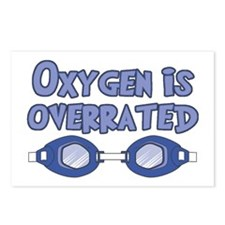 Oxygen is overrated Postcards (Package of 8)