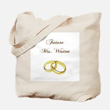 FUTURE MRS. WESTON Tote Bag
