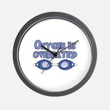 Oxygen is overrated Wall Clock