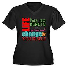 No Remote Plus Size T-Shirt